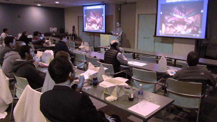 Live Surgery demonstration at the international Robotic Urology Symposium
